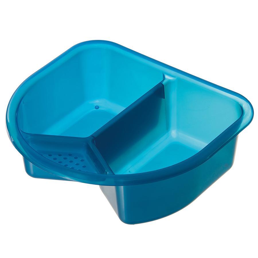 ROTHO TOP Dubbele wasbak Translucent Blue