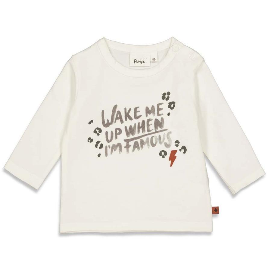 Feetje Camiseta de manga larga Famous Wild Thing Off white