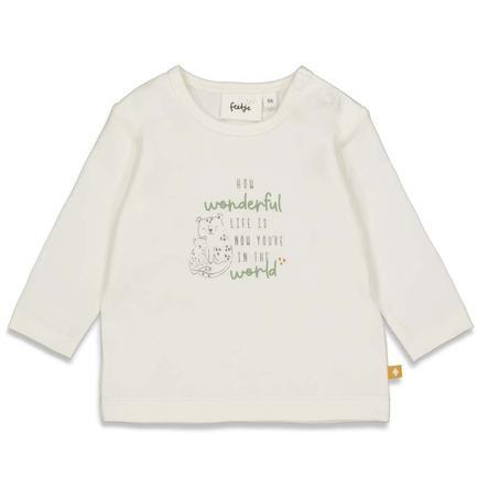 Feetje Shirt met lange mouwen Welcome Tot Earth korting white