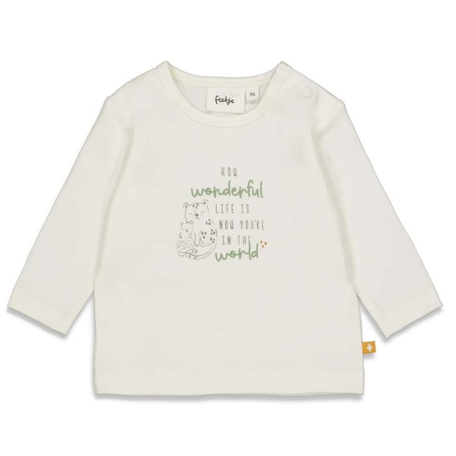 Feetje Långärmad skjorta Welcome Till Earth Rabatt white