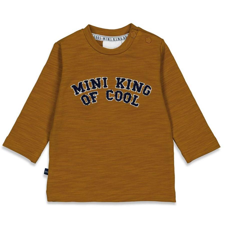 Feetje Lange Mouw Shirt Mini King Of Cool Camel