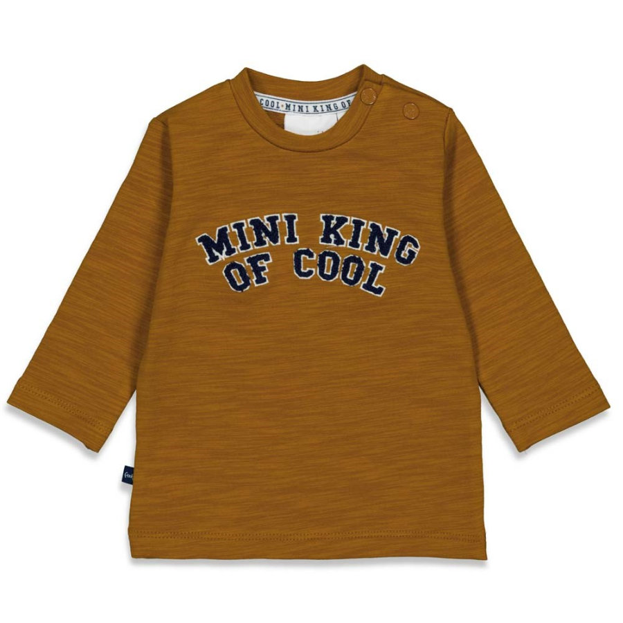 Feetje Pitkähihainen paita Mini King Of Cool Camel
