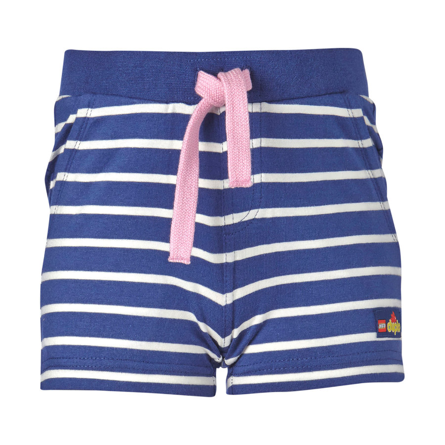 LEGO WEAR Duplo Girls Shorts PALMA 401 adventure blue