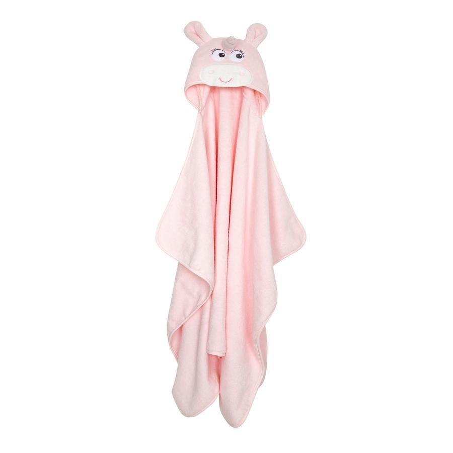 fillikid  Enhjørning badehåndklæde med hætte 65 x 125 cm