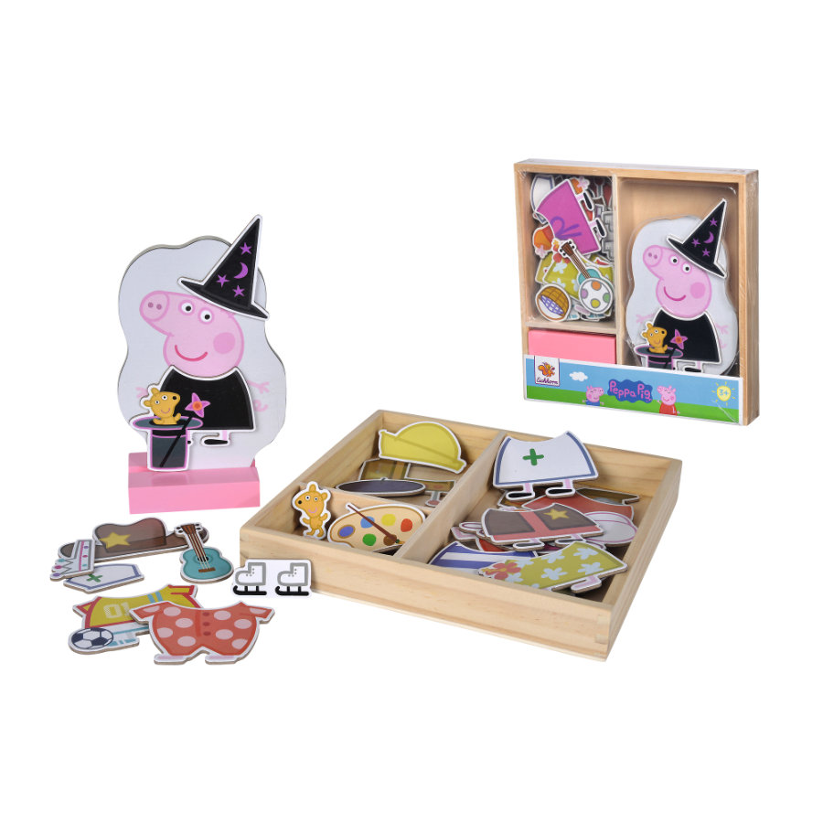 Eichhorn Peppa Pig Mag. Umzieh-Puzzle