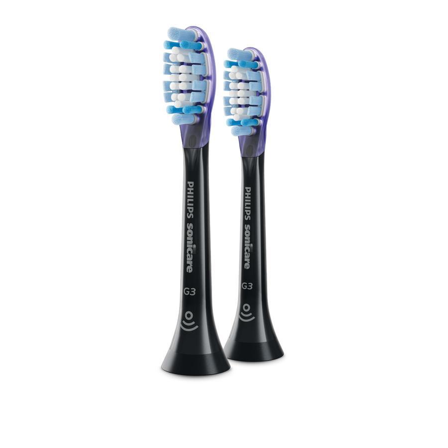 Philips Sonicare Embout de brosse à dent sonique Standard G3 Premium Gum Care HX9052/33 lot de 2