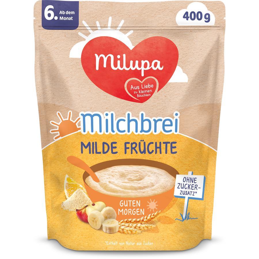Milupa Milchbrei Milde Früchte Guten Morgen 400 g ab dem 6. Monat