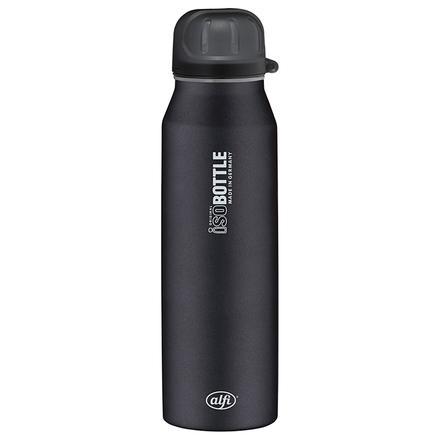 ALFI Trinkflasche ISO Bottle II aus Edelstahl 0,5l Design Pure schwarz
