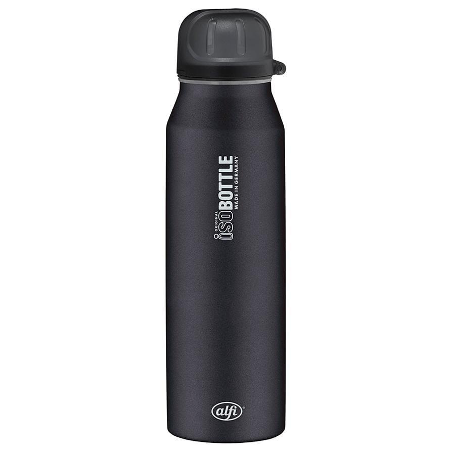 ALFI Butelka termoizolacyjna ze stali szlachetnej ISO Bottle II 0,5l Design Pure kolor czarny