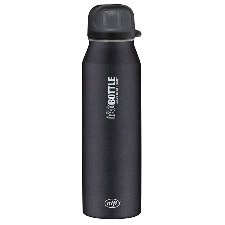 ALFI Flaska ISO Bottle II  0,5l Design Svart