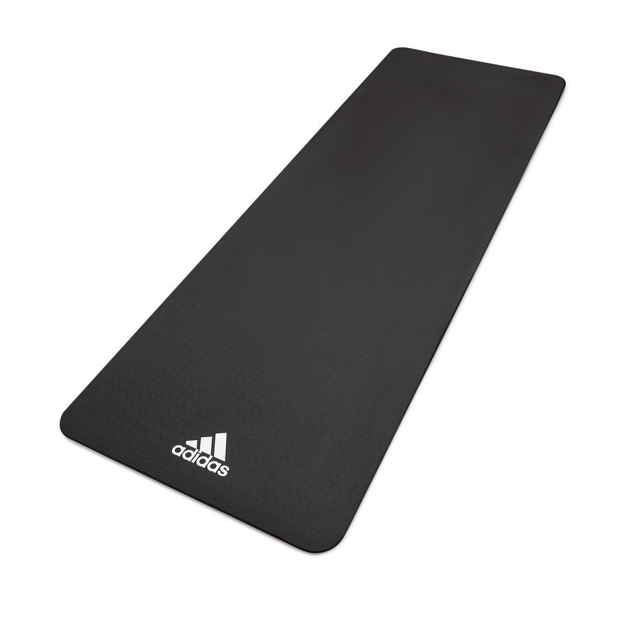 XTREM Toys and Sports - Esterilla de fitness y yoga Adidas 8 mm, negra