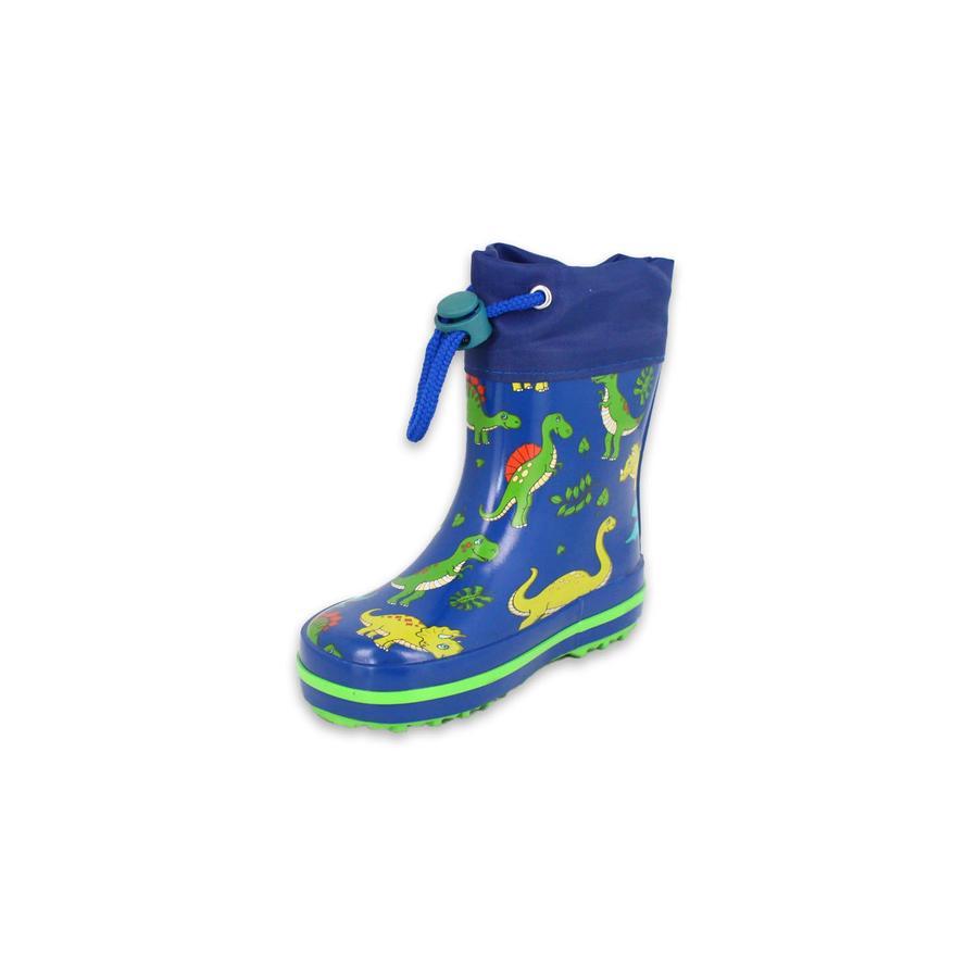Beck gumová bota Dino světle modrá