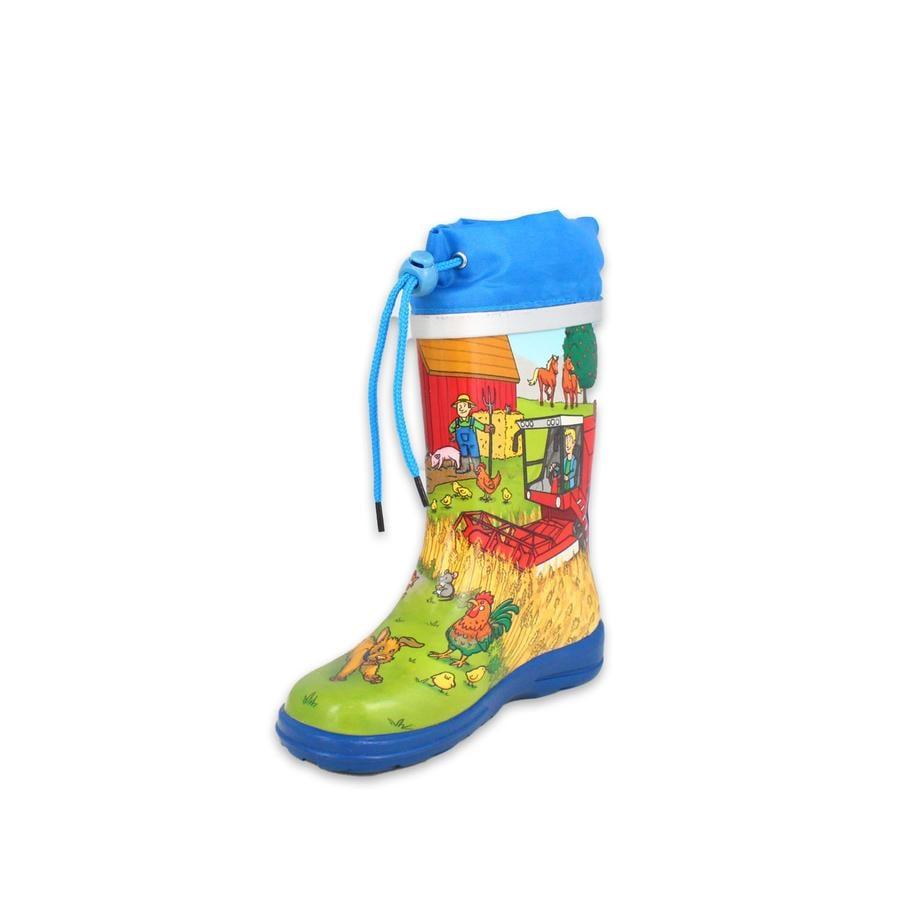 Beck stivali di gomma farm multi color