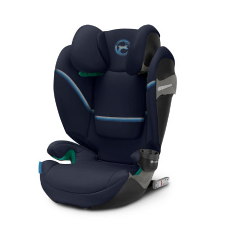 cybex GOLD Kindersitz Solution S2 i-Fix Navy Blue