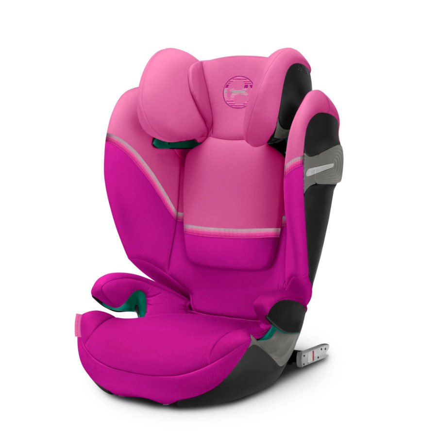 cybex GOLD Kindersitz Solution S2 i-Fix Magnolia Pink
