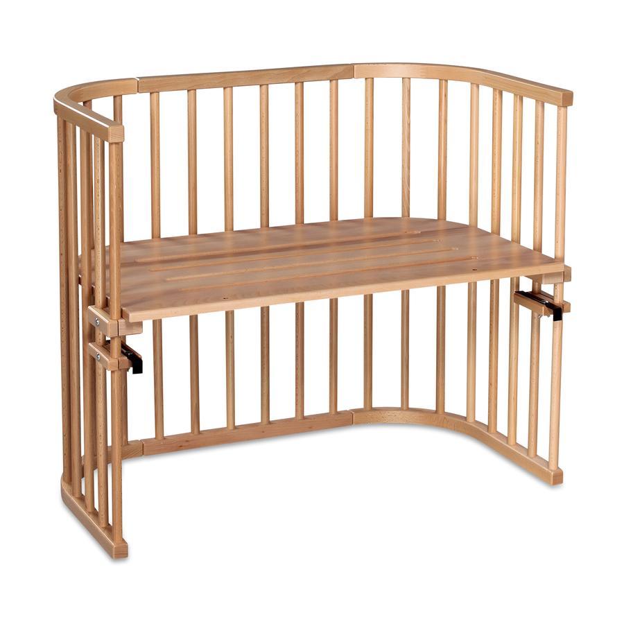 babybay Maxi Łóżeczko dostawne z drewna bukowego natura
