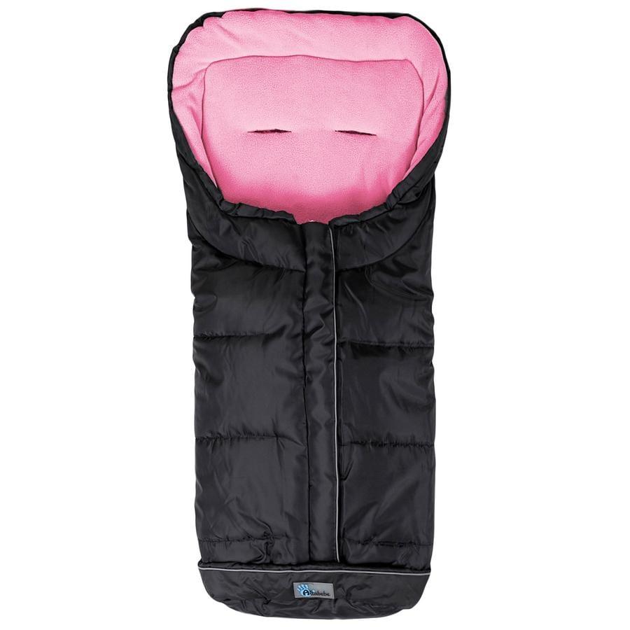 Altabebe Chancelière pour poussette hiver Active XL, ABS, noir/rose