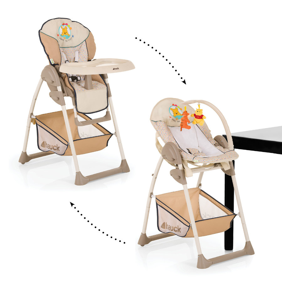 hauck Chaise haute Sit'n Relax Pooh Ready to Play, modèle 2014/15