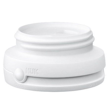 NUK FIRST CHOICE Screw Cap white