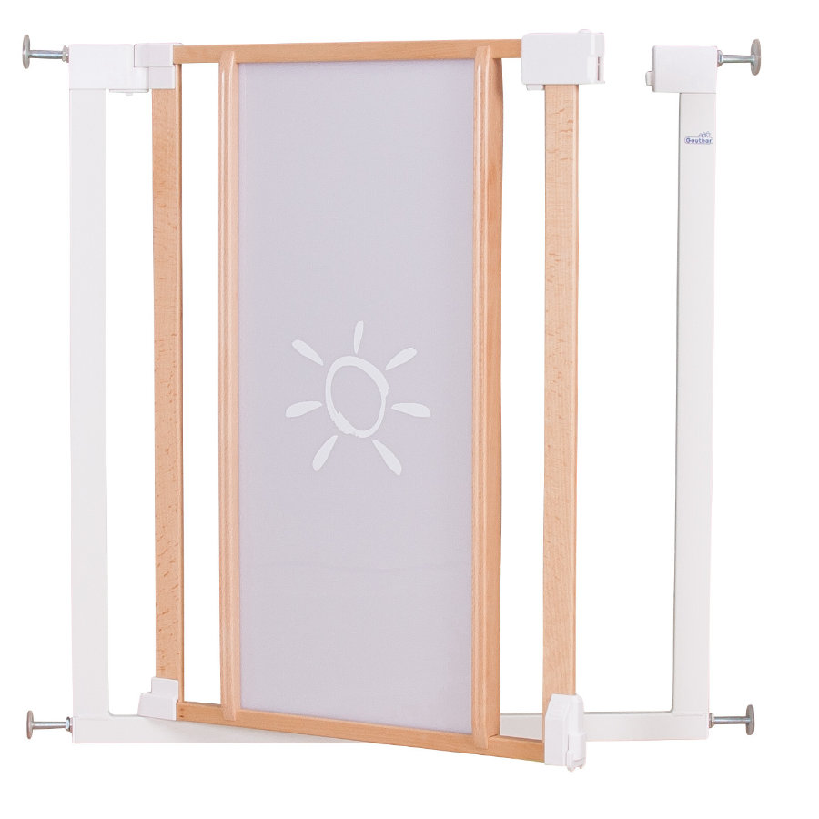 Geuther Türschutzgitter Vario Safe Plexi 2786 74,5 - 82,5 cm