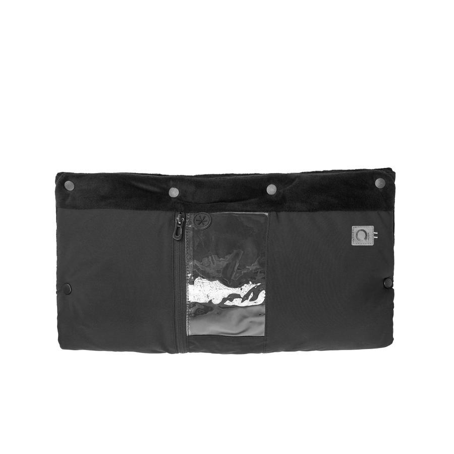 anex Muff Handwärmer mit Handyeinsatz Schwarz