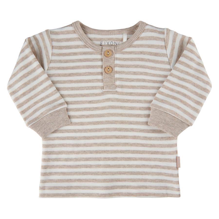FIXONI Shirt met lange mouwen Sand Melnage