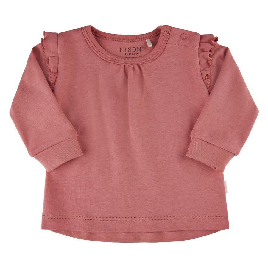 FIXONI Langærmet skjorte Dusty Rose