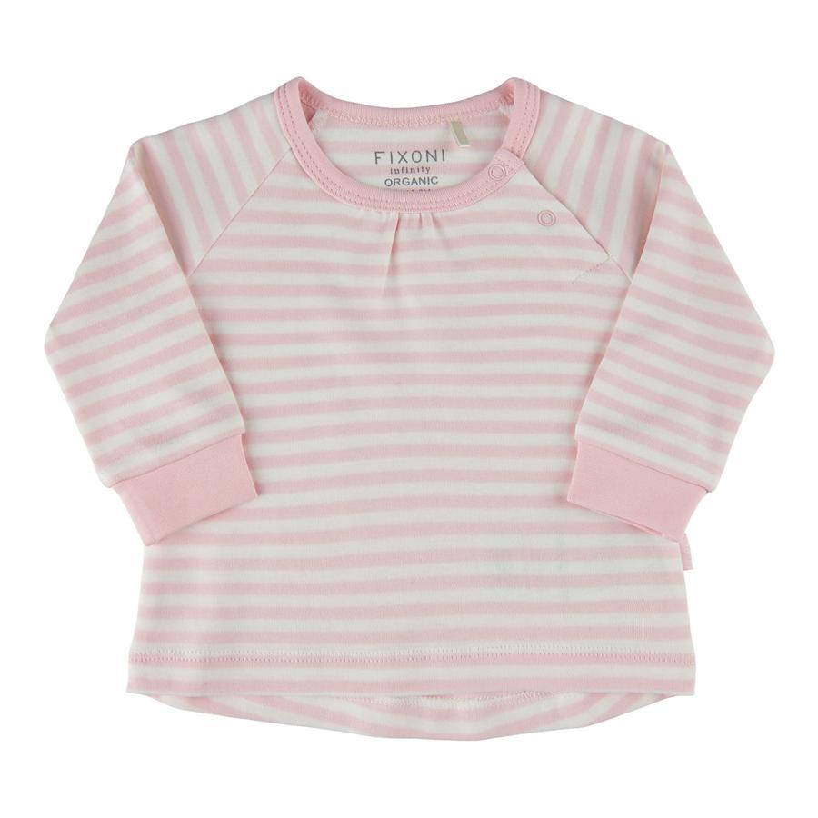 FIXONI Langarm Shirt light rose