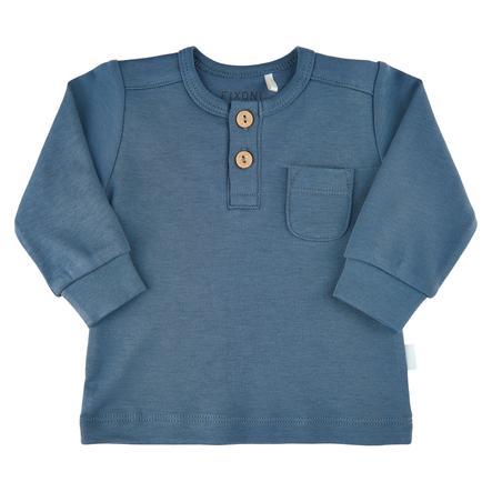 FIXONI Langarm Shirt China Blue