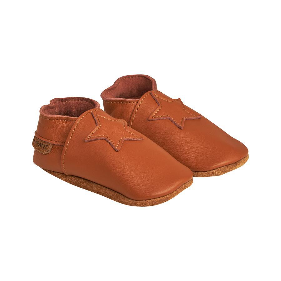 EN FANT Elastic Slipper leather brown
