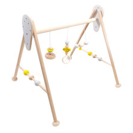 HESS Babyspielgerät Ente, natur gelb