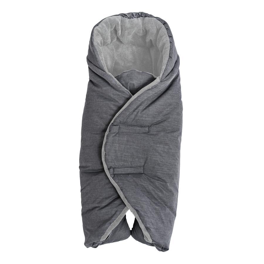 Altabebe Vinterfodskammel til autostol og bæresele Mørkegrå-Lyst grå 74 x 34 cm