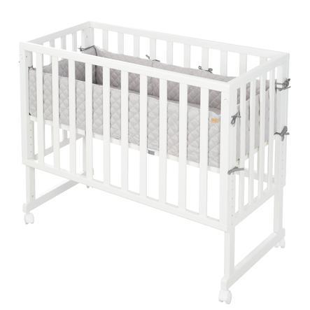 roba Peitto ja vauvansänky 3in1 Valkoinen esteellä Style harmaa