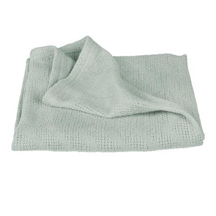 roba Tæppe i strikket look Lil Planet frosty green
