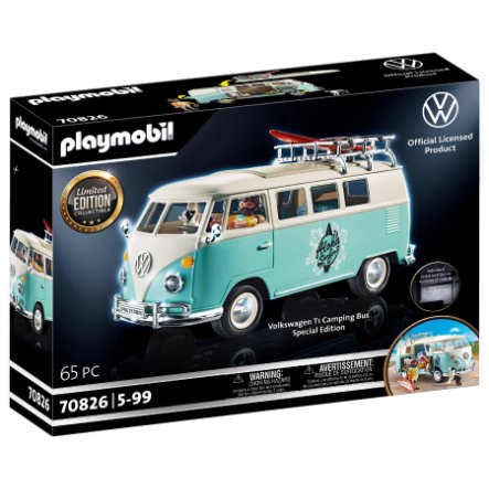 PLAYMOBIL® Volkswagen T1 Camping Bus - Special Edition 70826