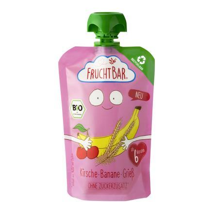 FRUCHTBAR® Bio-Pürees Kirsche-Banane-Grieß 100 g ab dem 6. Monat