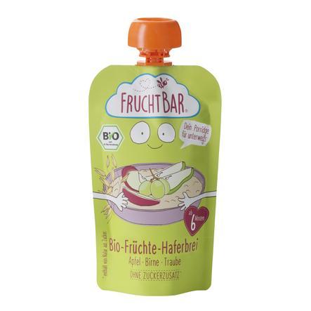 FRUCHTBAR® Bio-Früchte-Haferbrei Apfel-Birne-Traube ab dem 6. Monat 120 g