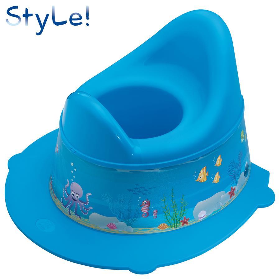 ROTHO STyLE! Dětský nočník Ocean aquamarine