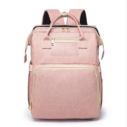 Stella Bag Wickelrucksack Basic Rosa mit Fronttasche