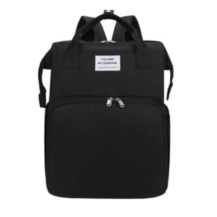 Stella Bag Zmienny plecak Basic Czarny z logo Sunshine