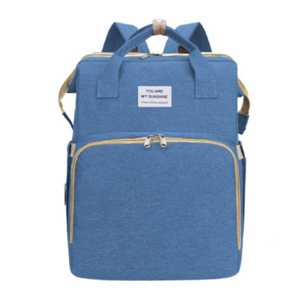 Stella Bag Wickelrucksack Basic Blau mit Sunshine Logo