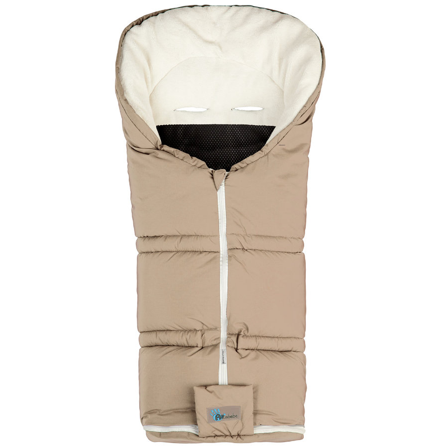 ALTA BÉBE Winter Footmuff Climate Guard (AL2278sx08) SympaTex, beige /whitewash - Sahara 2013/2014 collection