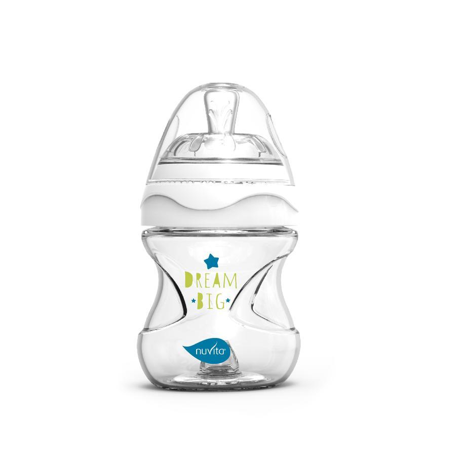 nuvita Babyflaske Anti-kolikk Mimic Collection 150ml i grønt