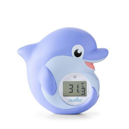 nuvita Badethermometer 2in1 Digitales Wassertemperatur & Kinderzimmer Thermometer