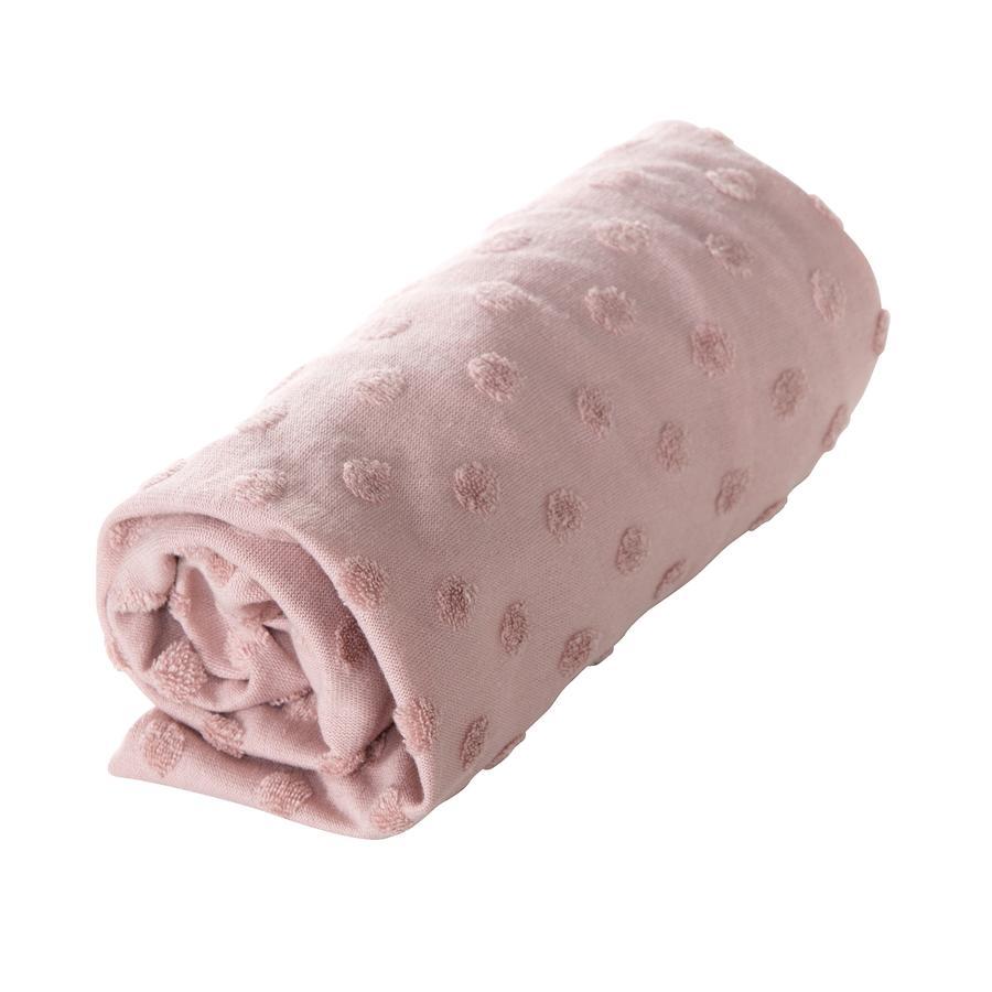 roba Dopasowany pokrowiec na matę do przewijania Lil Planet różowy 85 cm x 75 cm