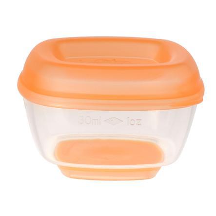 vital baby Pakastinkaukalot mini 4. kuukaudesta alkaen 30 ml, 8 kappaletta sisällä orange