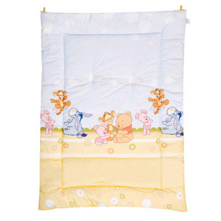 ZÖLLNER 95 x 135 cm Baby Blanket Baby Pooh and Friends