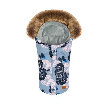 fillikid Winterfußsack Lhotse für Babyschale Fleur Pastell