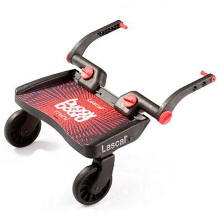 Buggy Board Mini marki Lascal kolor czerwony
