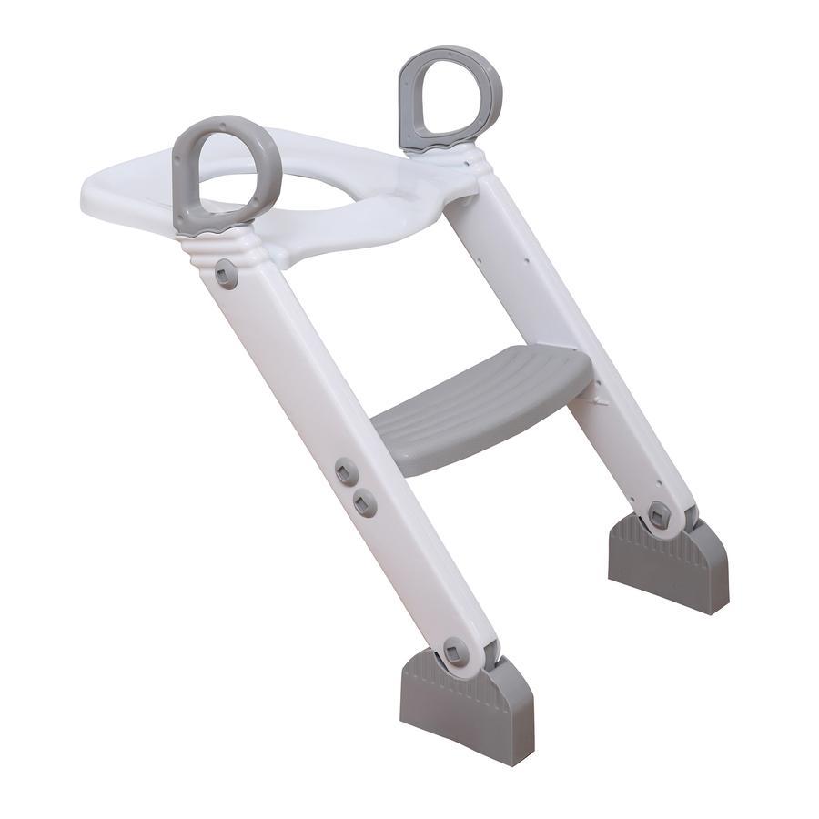 Dreambaby® Toilettentrainer mit Leiter in grau/weiß